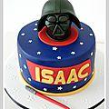 Gâteau anniversaire , petits et grands ... dark vador