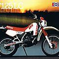 Yamaha 125 DTLC 34Y