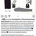 Monday for dolls - Challenge *14 - Theme: <b>Black</b> & <b>white</b>