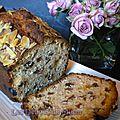 Cake anglais rhum-raisins