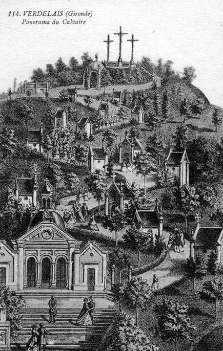 Notre Dame de Verdelais, le Calvaire