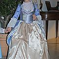 Robe de princesse XVIIIème, 200€