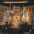Itxassou, église, choeur (64)