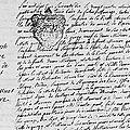 Lenferna de la Resle Jean Joseph Guillaume & Le Muet de Bélombre Elisabeth Sophie_Mariage