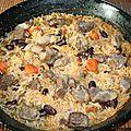Riz au four au porc (arroz al horno)
