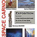 EXPOSITION à <b>Chatelaillon</b> <b>Plage</b> du 16 au 22 mai 2016