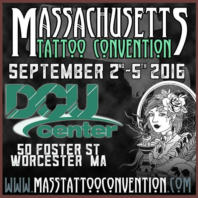 Massachusetts Tattoo Convention actions 2Awesome 02 - 05 Septembre 2016