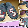 chaussons Louis