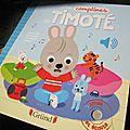 Les comptines de Timoté, par Emmanuelle Massonaud & <b>Mélanie</b> <b>Combes</b>