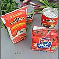 Faux chili con carne aux boulettes & haricots blancs - falso chili con carne a las albondiguas & porotos blancos