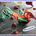 Quilling poussin21