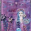 Celebrate LOVE... 2 pages d'AJ - illustration du challenge <b>Crafty</b> <b>Individuals</b>: 'Faces Value'