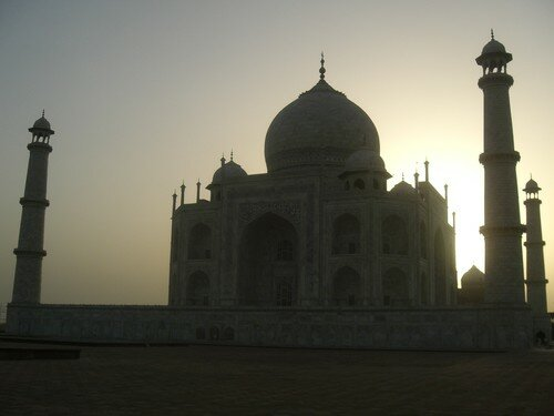Taj Mahal, au petit matin