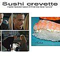 Sushi <b>crevette</b> dans Alice Never