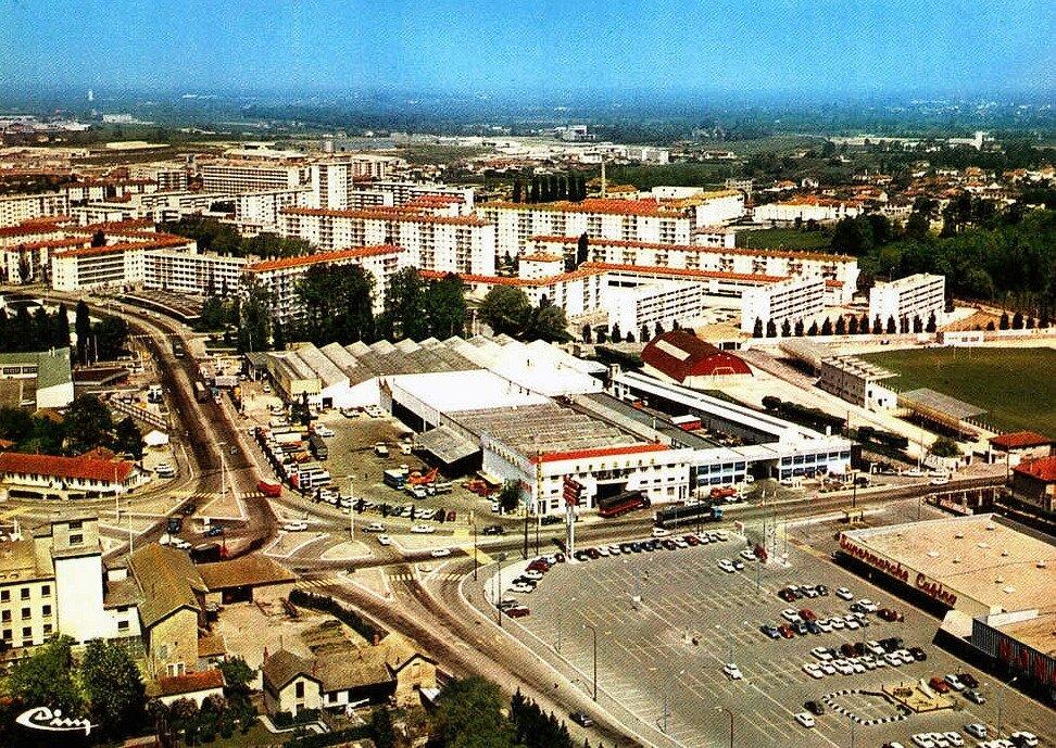 Bourg-en-Bresse quartier de la Reyssouze
