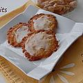 <b>Biscuits</b> fins aux zestes de <b>citron</b> confits, sans gluten