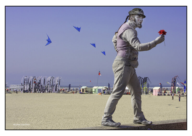 mime cerfs volants