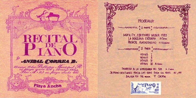 Recital de piano 1984 C