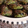 Kolokythokeftedes (beignets de courgettes) comme dans les cyclades/ kolokythokeftedes (zucchini balls) just like in the cyclades