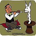 Magicien indien (ou <b>charmeur</b> de lapin)
