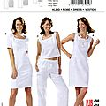 Robe patron burda 7972