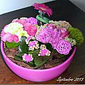 Montage floral ...