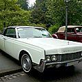 Lincoln continental 2door convertible 1967