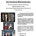 les liaisons dangereuses au chateau de <b>Sassenage</b>