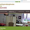 Projet de santé du canton de Saint-Savin (33)