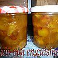 Confiture de mirabelles, gingembre & citron vert