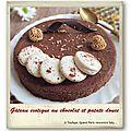 Gâteau de patate douce exotique au chocolat…