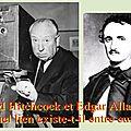 <b>Poe</b> : quelle influence a-t-il eue sur A. Hitchcock ?