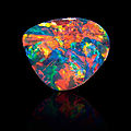 Exceptional Black <b>Pattern</b> Opal-