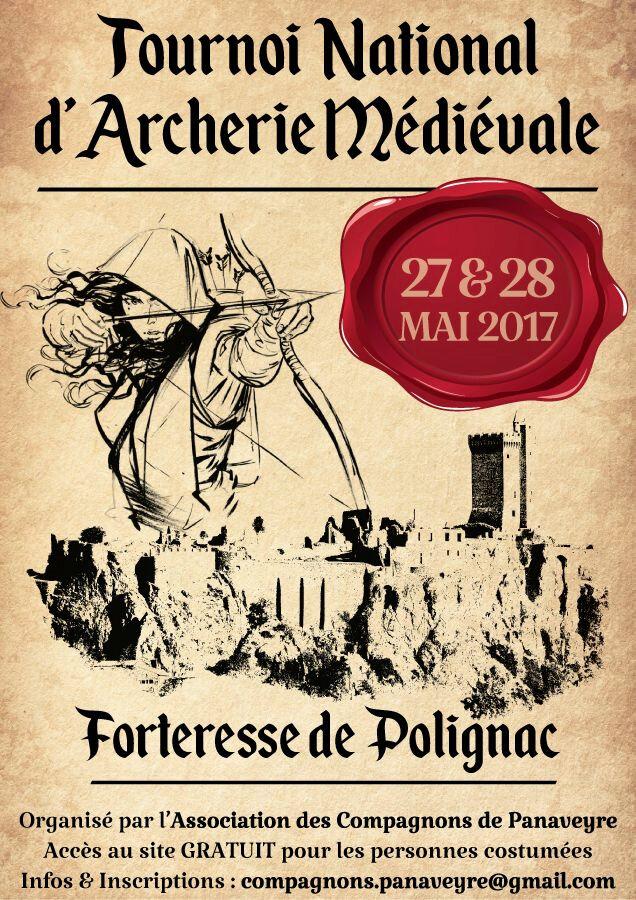 TOURNOI D'ARCHERIE MEDIEVAL DE POLIGNAC