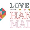 Love is hand made...