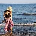 Instant bohème en famille à la plage de la verne (83)