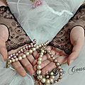 mitaines noire, gants de mariée, dentelle broderie amd a coudre (3)