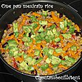 One pan mexicain rice