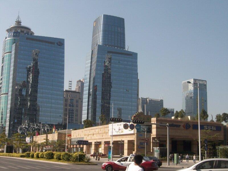 Centre d'affaire de Futian