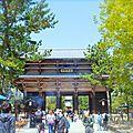 Visite guidée : <b>Nara</b> ou tout ce qui brille.