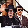 Michael jackson à l'institut lumière de lyon (france), 13 juin 1997