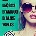 [CHRONIQUE] Les leçons d'amour d'Alice Wells de Sara Wolf