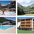 Les vacances à la montagne, Vallouise-Pelvoux, Parc National des Ecrins, Le Palatin Appartement au pied des pistes