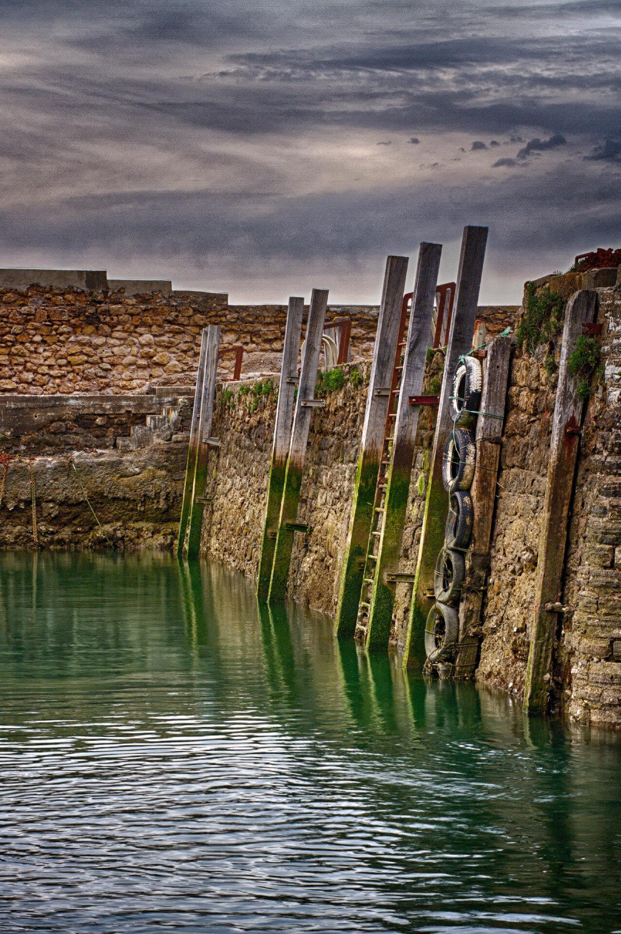 HDR - Port des pêcheurs à Biarritz