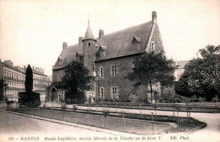 Ancien Nantes - Manoir de la Touche