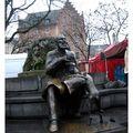 BXL fontaine statue