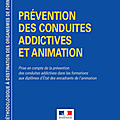 Guide <b>Prévention</b> des conduites addictives et animation
