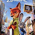 Critique dvd zootopie, le super dessin animé de début 2016!!!