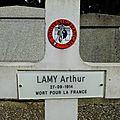 Soldat Arthur LAMY