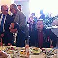 Vitry le François avec F. Hollande